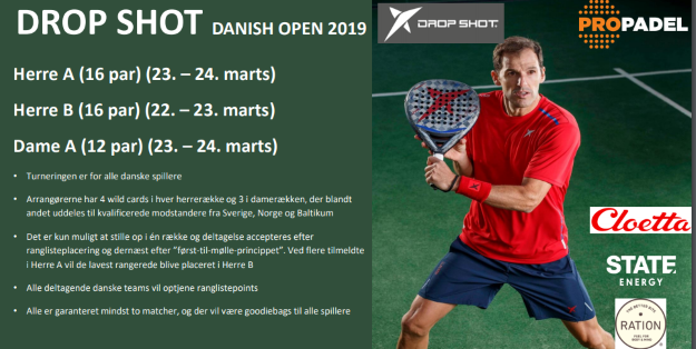 Dropshot Danish Open 2019