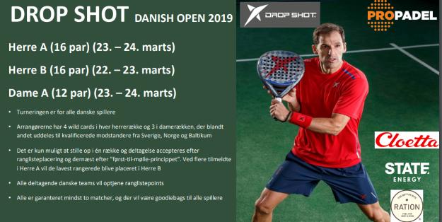 Dropshot Danish Open 2019