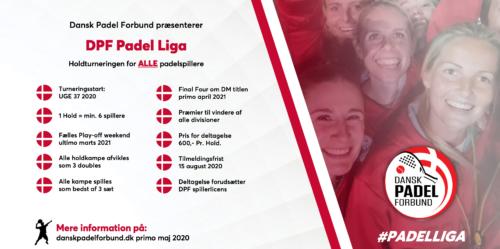 Dansk Padel Forbund præsenterer DPF Padel Ligaen