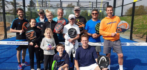 Dansk padel liga for hold