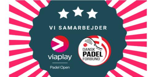 Dansk Padel Forbund samarbejder med Viaplay