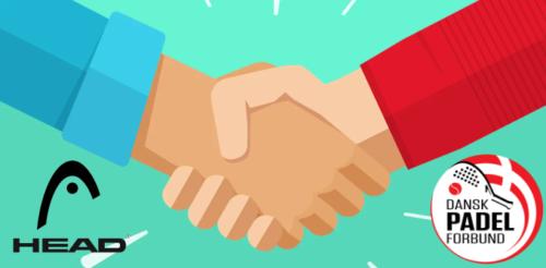 HEAD og Dansk Padel Forbund indgår sponsoraftale