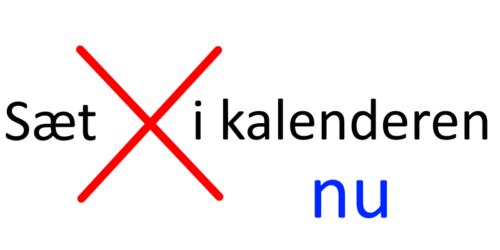 Read more about the article DM kalender 2021